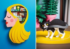 Katrin Rodegast is redefining the worlds of graphic design and illustration.