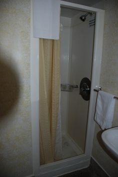 old shower  area
