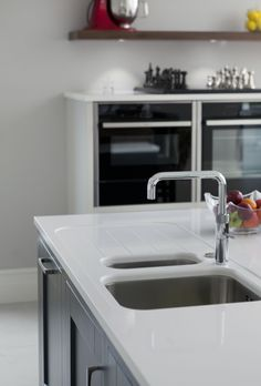 Quooker water tap, providing boiling water at the touch of a button.