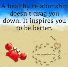 Healthy relationship quote via www.IamPoopsie.com