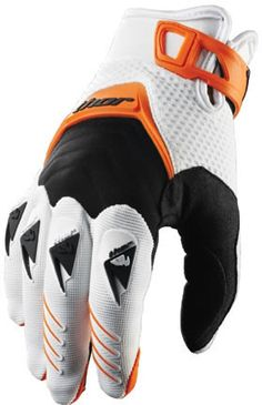 Thor Deflector Gloves Orange - Thor Motocross Part Number: Multiple Part Numbers – KTM Motorcycles