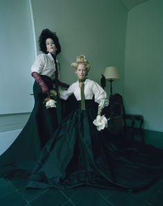 Tilda Swinton: The Surreal World - Tilda Swinton and Lady Amanda Harlech   Photography by Tim Walker