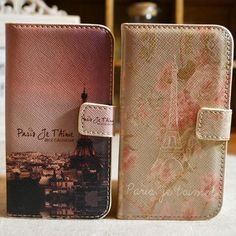 Floral Tower PU Protective Case for Iphone4/4S - iPhone Cases - Cases Guess You Like It