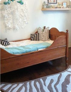 """Would love to find one of these beds for my """"grandma"""" room."""