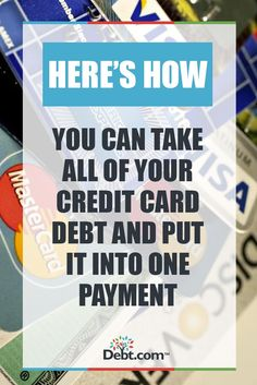 how to get out of credit card debt without paying