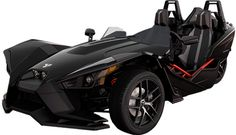 The Polaris Slingshot - the closest anyone has come to making a street legal Batman vehicle.