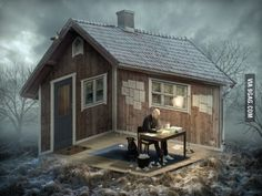 'The Architect' by Erik Johansson really confuses my mind!