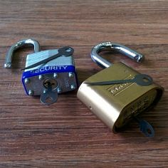 Quick Sticks and EZ Decoders - Quick Sticks (shown left) are designed to quickly open many heel and toe locking dogs on padlocks, as well as keyways on most file cabinet locks and tool chests. EZ Decoders (shown right) are designed to open multi-wheeled combination locks, either by deciphering the actual combination, or bypassing it completely.