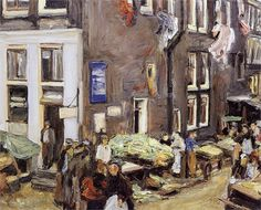 Jewish quarter in Amsterdam - Max Liebermann