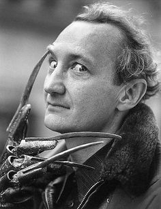 Robert Englund aka Freddy Krueger. ° and He still looks a lil scary