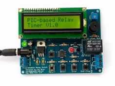 Programmable relay switch using PIC MCU (revised version) - Electronics Infoline Science Projects, School Projects, Pic Microcontroller, Electronic News, Electronics Projects, Circuits, Science Fair Projects