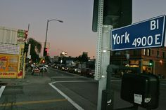 Another side of Highland Park (los angeles), Ca - Unfortunately the hipsters are taking over York.