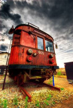 old train