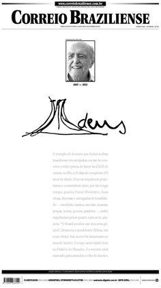 Primeira página - jornal Correio Braziliense