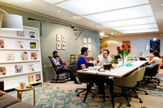 Why London's smart start-ups love a hot desk - London Life - Life & Style - London Evening Standard