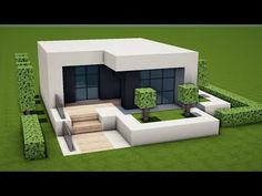 Minecraft Mods, Minecraft Villa, Modern Minecraft Houses, Minecraft House Plans, Minecraft Mansion, Minecraft House Tutorials, Minecraft House Designs, Minecraft Crafts, Luxury Homes Dream Houses