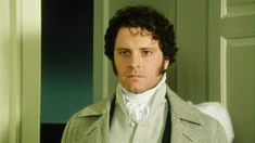 """Colin Firth as Mr. Darcy - BBC """"Pride and Prejudice"""" miniseries). If you've only ever seen the Kiera Knightley version, you are missing out! Jane Austen, Colin Firth Mr Darcy, Darcy Pride And Prejudice, Bbc, Jennifer Ehle, Elizabeth Bennet, Elizabeth Gaskell, Sink Or Swim, Matthew Macfadyen"""
