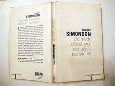 ce livre dingos de Simondon