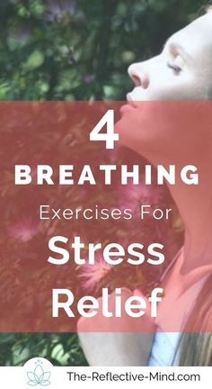 Try these 4 easy breathing techniques and watch your meditation practice improve. Conscious breathing helps to bring our focus back to the present moment by providing an anchor you can access anytime. Ways To Reduce Anxiety, How To Cure Anxiety, Anxiety Tips, Stress And Anxiety, How To Relieve Stress, Reduce Stress, Meditation Scripts, Meditation Practices, Yoga Meditation