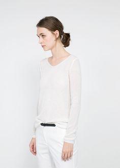 Mango   Mohair-blend sweater
