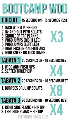 Bootcamp Workout via /FitFoodieFinds/ #Fitfluential #MOVE