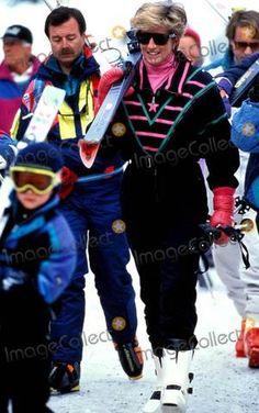 Diana & Ses Fils au SKI _ HOLIDAY, LECH, Autriche - Mars 1993 _ SUITE