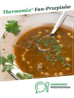 """Marokańska zupa """"Harira"""" jest to przepis stworzony przez użytkownika Thermomix. Ten przepis na Thermomix<sup>®</sup> znajdziesz w kategorii Zupy na www.przepisownia.pl, społeczności Thermomix<sup>®</sup>."""