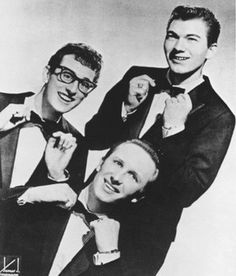 Buddy Holly & The Crickets    Google Image Result for http://l.yimg.com/ck/image/A1731/1731015/300_1731015.jpg