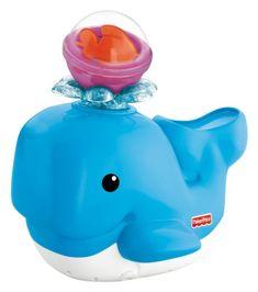 Fisher Price – Ballenita baño divertido (Mattel V4377)