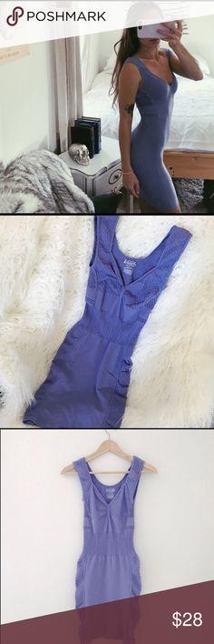 Free People Body Con Dress 🍃💐 Deep lavender Free People body con dress. Worn once. Very stretchy, fits XS/S. Free People Dresses Mini