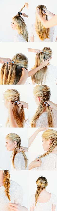 Perfect fishtail braid <3 #longhairstyles #hairstylesforwomen #classic #braid #braided #bun #updo #hair #hairstyle #hairstyles #long #thick  #beautiful #style #beauty #fashion #celebrity #hollywood #red #carpet #glamorous #luxury #wavy #waves #curly #curls #straight #ponytail #chignon #elegant #bride #bridal #wedding #inspiration #ideas #engaged #engagement #boho #bohemian #diy #prom #vintage