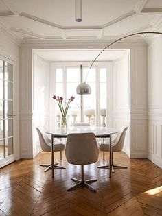 Artichoke and Arco Lamps, Beautiful Lighting Fixtures in Retro Styles for Modern Interior Design Mid-century Interior, Interior Design, Arco Floor Lamp, Design Apartment, Modern Floor Lamps, Dining Room Lighting, Bedroom Lighting, Contemporary Home Decor, Home Living
