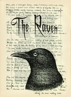 The Raven- By Edgar Allen Poe. It is a Gothic piece of literature that we read in class. The setting is in a big dark house. Which is a symbol of Gothic literature Edgar Allen Poe, Edgar Poe, Allan Poe, Edgar Allan, The Raven Poem, Quoth The Raven, Raven Art, Crow Art, Gothic