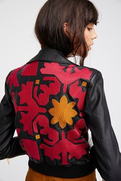 Shop our Embroidered Vegan Bomber at FreePeople.com. Share style pics with FP Me, and read & post reviews. Free shipping worldwide - see site for details.