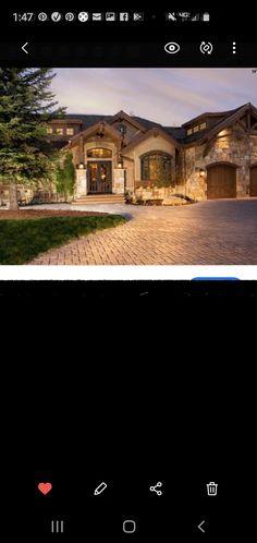 Brick, 1, Exterior, Mansions, House Styles, Ideas, Home Decor, Decoration Home, Room Decor
