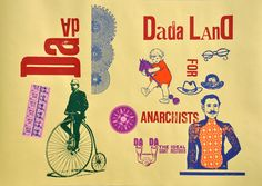 dada land #typography #typografie #typostrate #typo #type #design #art #lettering #letter #graphic #grafik #visual #artwork #style #cool #hipster #faith #passion #beauty #packaging #product #fashion #mode #moda #vogue  #dadaism  #dada