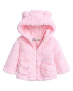 KONFA Teen Toddler Baby Girls Keep Warm Long Sleeve Thick Coat,Kids Faux Fur Jacket Tops Winter Outwear Cloak Clothes