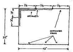 flag measurements - swing flags
