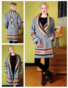 The Vintage Pattern Files: 1970's Sewing - Blanket Coat