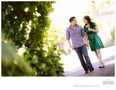 Villagio Inn engagement photo