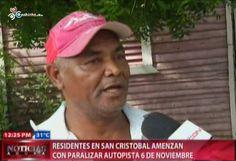 Residentes En San Cristóbal Amenazan Con Paralizar Autopista 6 De Noviembre #Video