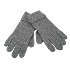 Grant -- Your new favorite glove! Ultra-soft 100% Merino wool, with fold over cuff.