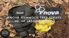 Fnova Hammock Tree Straps vs. Harbor Freight Lashing Straps - Comparing ...