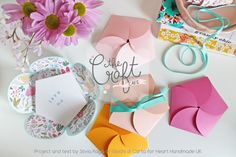 The Craft Cafe Shows You How To Make Flower Envelopes