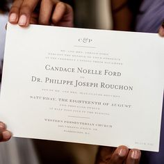 Classic, gray and white wedding invitations (Meredith Hanafi Photography)