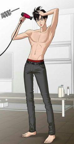 Swing those hipss Ideal Boyfriend, The Secret, Webtoon Comics, Handsome Anime, Manga Boy, Manga Anime, Anime Art, Black Butler, True Beauty