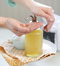sabonete liquido para o rosto mel