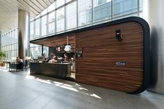 Shipping Container Cafe, Container Shop, Container House Design, Kiosk Design, Cafe Design, Booth Design, Industrial Coffee Shop, Coffee Shop Counter, Container Restaurant