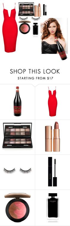 """""""PRP"""" by maddydanja94 ❤ liked on Polyvore featuring By Terry, Charlotte Tilbury, Battington, Gucci, MAC Cosmetics and Narciso Rodriguez"""