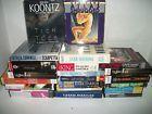 Mixed lot of 21 Audiobooks on CD Dean Koontz Stephen King & More